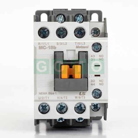 Contactor Lugs MC-100A-AC120V-L 2 NO//2 NC 3 Pole 120VAC coil 100A 50//60Hz