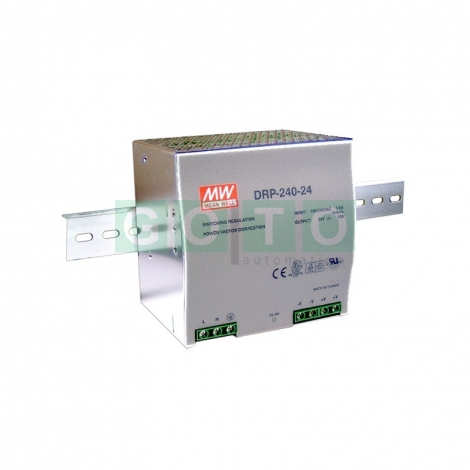 DIN Rail Power Supplies 24V 10A 240W SINGLE OUTPUT COMPACT DIN