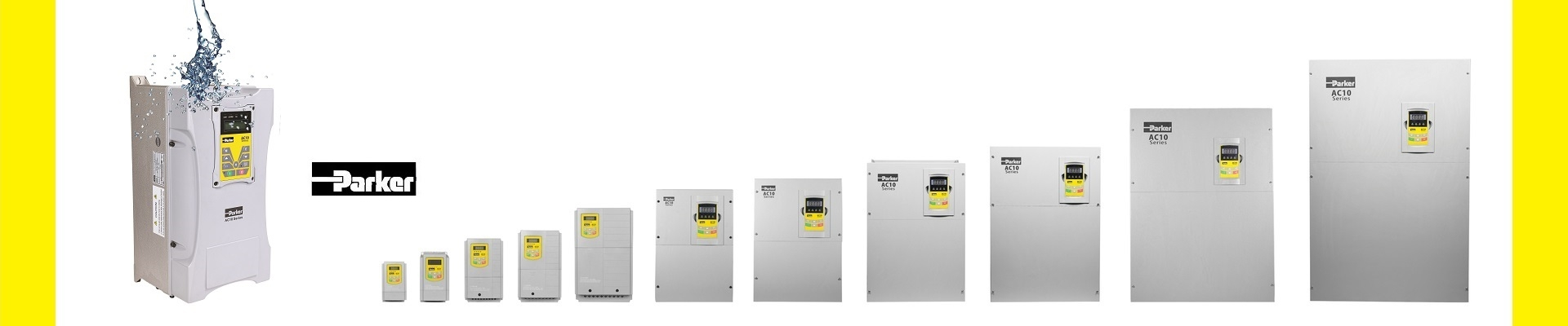 Parker AC10 Series Frequency Inverters